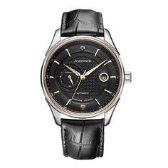 Kensington / Black Leather