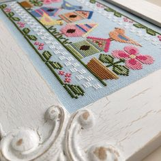 NEW! COUNTRY COTTAGE NEEDLeWORKS Spring Birds counted cross stitch patterns at thecottageneedle.com by thecottageneedle