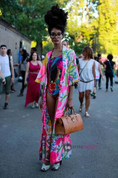 StyleBlazer heads to Brooklyn, New York to take street style shots of all the festival goers at the 2013 Afropunk music festival.