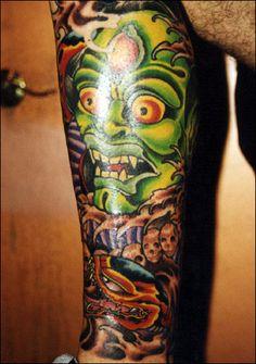 #tatto #in #workplace #tatuaż #w #pracy