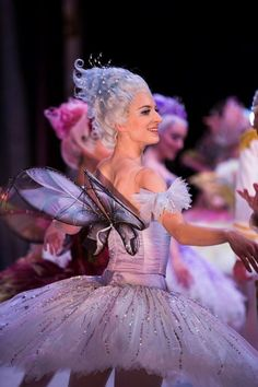 The Australian Ballet's Ingrid Gow as the Lilac Fairy in Sleeping Beauty, photographed by Kate Longley