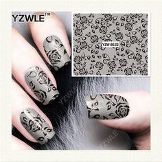 YZWLE 1 Sheet DIY Decals Nails Art Water Transfer Printing Stickers Accessories For Manicure Salon   YZW-8632♦️ SMS - F A S H I O N  http://www.sms.hr/products/yzwle-1-sheet-diy-decals-nails-art-water-transfer-printing-stickers-accessories-for-manicure-salon-yzw-8632/ US $0.09