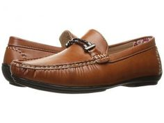 Stacy Adams Percy (Tan Smooth) Men's Shoes