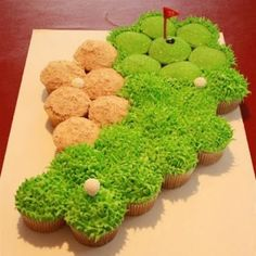 Golf course-grooms cake