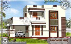 square feet flat roof home design roof design plans hip roof garage plan house plans home designs Indian Home Design, Kerala House Design, Online Home Design, Home Design Software, Home Design Plans, House Front Design, Small House Design, Cool House Designs, 3d Design