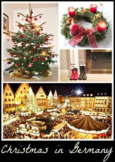 Learn about all of the traditions related to Christmas in Germany: Nativity scenes, Christkindlmarkt, St Nikolaus, raclette, and special Christmas cookies. All Things Christmas, Vintage Christmas, Christmas Holidays, Christmas Ideas, White Christmas, Holiday Ideas, Xmas, Holiday Foods, Beautiful Christmas