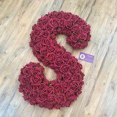 Alphabet Latin, Alphabet Art, Letter Art, Flower Letters, Diy Letters, Letters And Numbers, Flower Phone Wallpaper, Love Wallpaper, Full Hand Mehndi