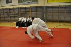Aikido Kyuprüfungen in Linz Urfahr (Oberösterreich) im Dezember 2015 – Kokyonage
