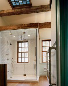 "georgianadesign: ""'Brown Road Dutch Barn, New York.' Heritage Restorations, home builders, Waco, TX. """
