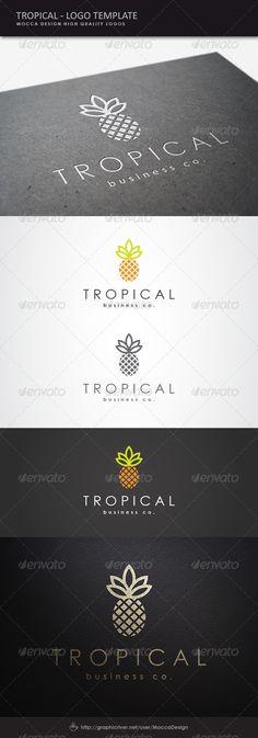 Tropical Logo - Food Logo Templates