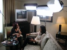 Behind The Scenes Of My Open Chest Interview With Freida Pinto