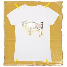Vache / T-shirt unisexe T Shirt, Mens Tops, Fashion, Cow, Unisex, Supreme T Shirt, Moda, Tee, Fashion Styles