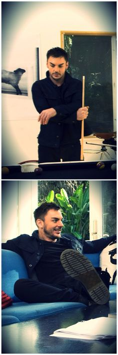 Shannon Leto - he is such a manly man... I love his poise.