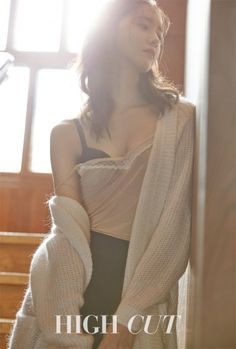 Girls' Generation member Yoona posed in lingerie for fashion and beauty magazine HIGH CUT. Yoona has generally held a very innocent and graceful image, but for HIGH CUT's photoshoot, she poses in lingerie while not revealing too much. Seohyun, Yoona Snsd, Girls Generation, Korean Beauty, Asian Beauty, Korean Girl, Asian Girl, Idole, Jessica Jung