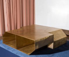 Chamfer table by Christopher Stuart
