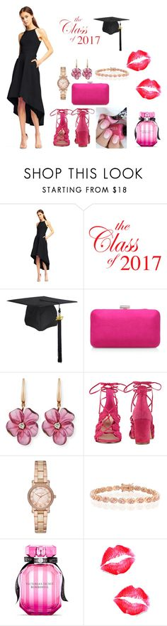"""Graduation Ideas"" by newyorkdressonline on Polyvore featuring Aidan Mattox, Rina Limor, Nine West, Michael Kors, Bling Jewelry and Victoria's Secret"