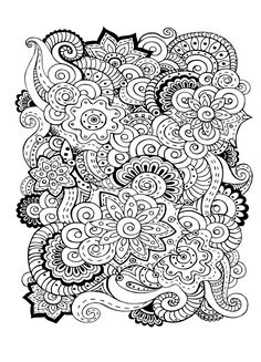 Zinnia Coloring Pages - Best Coloring Pages For Kids Printable Flower Coloring Pages, Fairy Coloring Pages, Adult Coloring Book Pages, Cool Coloring Pages, Coloring Books, Doodle Coloring, Flower Doodles, Zinnias, Colorful Flowers