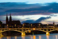 Wettsteinbrücke Basel Schweiz - Basilea - SWITZERLAND