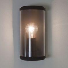 Paros Zwart buitenlamp helder glas E27 fitting makkelijk bestellen | FOIR.NL!