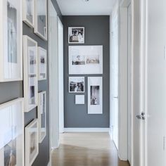 """katiahomedeco: """" Sonbaharla beraber eve dönüş başlar . Koridorlara yeni bir soluk için bu uygulama çok hoşduvar gri ☑️ resimler siyah beyaz ▪️▫️ #katiahomedeco…"""