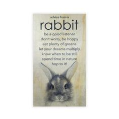 "The Twelve Timbers ""Advice from a Rabbit"" Wall Art has a sly, inspiring message, perfect to lighten the tone of your living space. These words of wisdom will add character to any room that and put a smile on your face. Quotes To Live By, Life Quotes, Momma Quotes, Qoutes, Beauty Kit, Eyeliner Brush, Fake Eyelashes, Ingrown Hair, How To Apply Makeup"