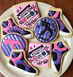 I know they're not ballet, but what little dancer wouldn't like Hip hop themed dance cookies