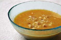 Sopa de Abóbora e Castanhas    No soup for you