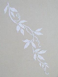 Vine Plaster stencil - http://www.victorialarsen.com/Plaster%20Stencils/plastervine.JPG