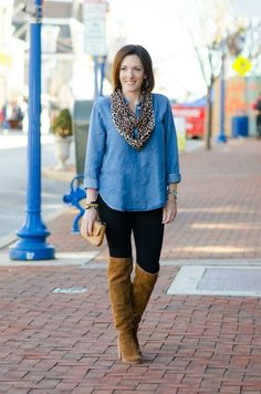 Leopards Leopard Scarf Outfits And Olive Vest On Pinterest