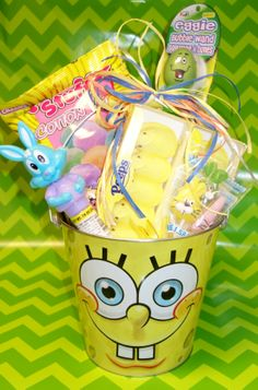 Hop in today for all your #Easter Basket goodies! Various characters available! #Spongebob