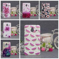 Für nokia lumia 640 xl case ultra thin tpu abdeckung 3d geprägte malerei weichen silikon telefon case abdeckung für microsoft nokia 640xl