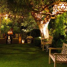Popular Backyard Lighting Ideas Makes It Look Beautiful - In the event that you have a backyard, you should have just contemplated introducing solar LED lights for night enlightenment. An extraordinary bit of. Backyard Lighting, Outdoor Lighting, Outdoor Decor, Lights For Backyard, Backyard Patio, Backyard Landscaping, Backyard Ideas, Patio Ideas, Backyard Shade
