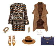 """""""Ethnic touch"""" by catalalema on Polyvore featuring moda, Gucci, Dorothy Perkins, Chanel, rag & bone, Betsey Johnson, Lizzy James, New Look y Capwell + Co"""