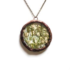 Fab.com | Baby's Breath Circle Nklce Gr
