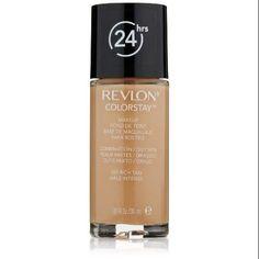 Revlon ColorStay Makeup, Combination/Oily Skin, Rich Tan, 1 Ounce #makeup #beauty #makeupkits #makeupkit #beautiful