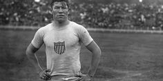 Jim Thorpe. Native American athlete who won gold medals in both the decathlon and pentathlon in 1912. Pro baseball player and pro football player. He also injured Eisenhower in a college football game.