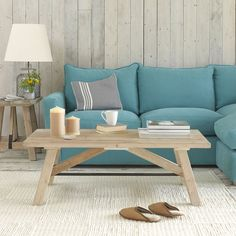 Reclaimed Wood Coffee Table | Chappy | Loaf