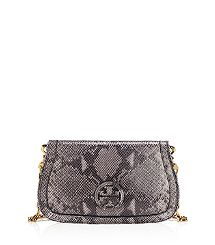 if you were wondering what to get me...Printed Snake Amanda Logo Clutch