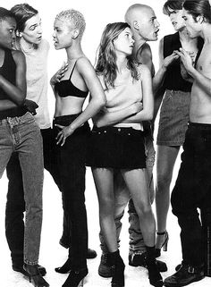 Model Call: Guess? Jeans 1990's