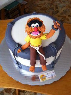 Animal Muppets Show cake