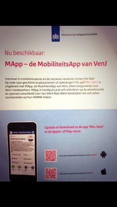 Mapp, mobiliteitsapp van min V en J