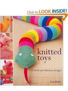 Knit Colorful Snake