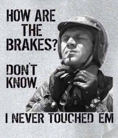 Never Touched The Brakes