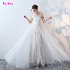 4b54bac76886bac ... белое свадебное платье es 2019 Новое сексуальное торжественное  свадебное платье длинное Тюлевое платье с аппликацией бальное платье цвета  слоновой кости ...