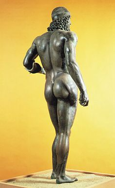 IASblog | The Riace Bronzes are back on display at the Museo Archeologico di Reggio Calabria. Made in Greece around 450 BCE, the bronzes were exported to the Italian peninsula but never arrived at their destination. Their loss at sea proved to be a boon for classical archaeology, as they are rare survivors of a medium known to have dominated ancient visual culture. Most ancient bronzes were melted down, but the Riace warriors were safe on the sea bed until their discovery by divers in 1972.