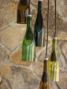 Wine Bottle Light by glow828 on Etsy