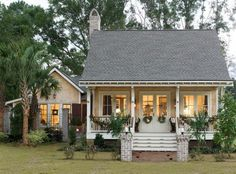 """18 Cute Small Houses That Look So Peaceful It's ironic that these homes are considered """"small"""". They are gorgeous and totally liveable! Living in a smaller space is easier than people think. Plus, it makes you get rid of tons of unnecessary """"stuff""""."""