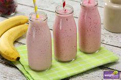 Raspberry & Banana Smoothie