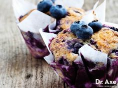 Blueberry muffins are a family favorite and this recipe won't disappoint! This gluten free blueberry muffins recipe is absolutely delicious, healthy
