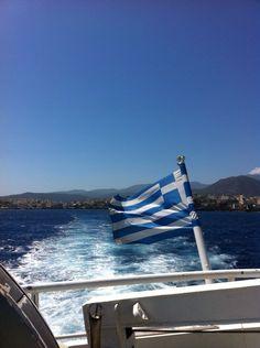 23-08-2014 greece flags  I am here live